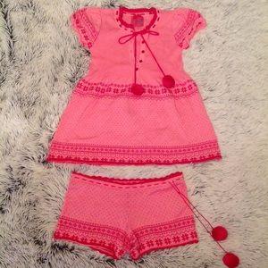 Victoria's Secret Pout cute pink holiday PJ's